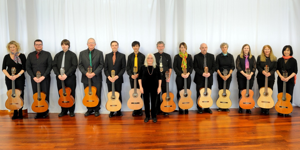 WA Classical Guitar Society Orchestra Peter Altmeier Mort classical guitar lessons perth guitar teacher